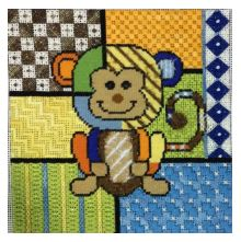 click here to view larger image of Colorful Monkey (hand painted canvases)