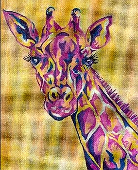 click here to view larger image of Giraffe (hand painted canvases)