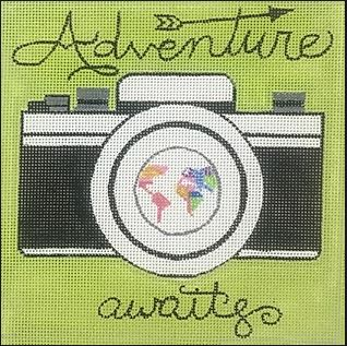 click here to view larger image of Adventure Awaits (hand painted canvases)