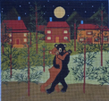 click here to view larger image of Dancing in the Moonlight (hand painted canvases)