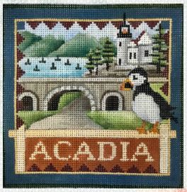 click here to view larger image of Arcadia National Park (hand painted canvases)