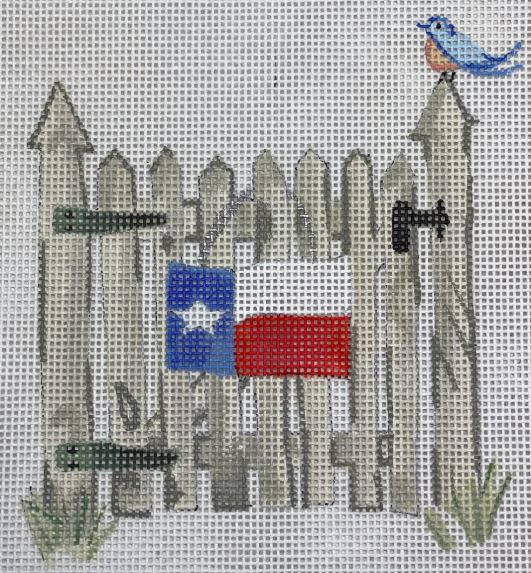 click here to view larger image of Texas Gate (hand painted canvases)