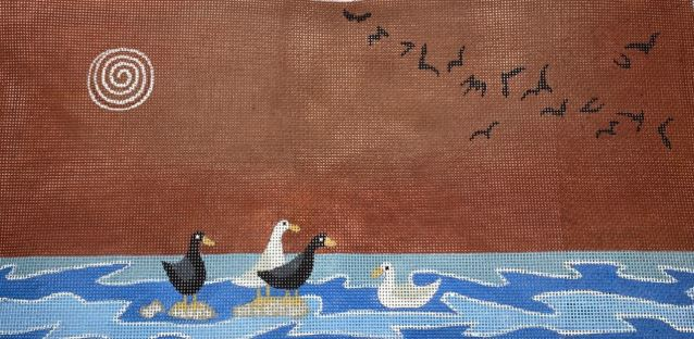 click here to view larger image of Birds, The (hand painted canvases)