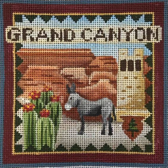 click here to view larger image of Postcard - Grand Canyon (hand painted canvases)