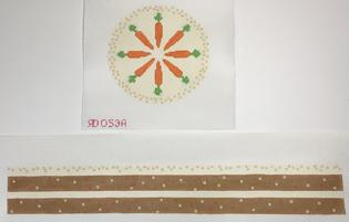 click here to view larger image of Carrot Cake (hand painted canvases)