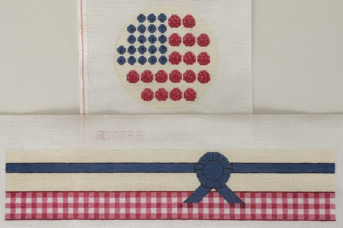 click here to view larger image of Flag Cake (hand painted canvases)