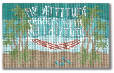 click here to view larger image of Attitude (hand painted canvases)