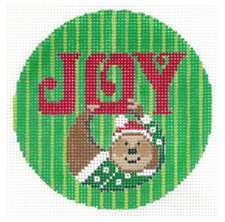 click here to view larger image of Joy - Sloth (hand painted canvases)