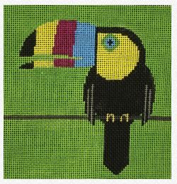 click here to view larger image of Toucan (hand painted canvases)