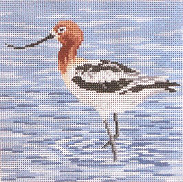 click here to view larger image of American Avocet (hand painted canvases)