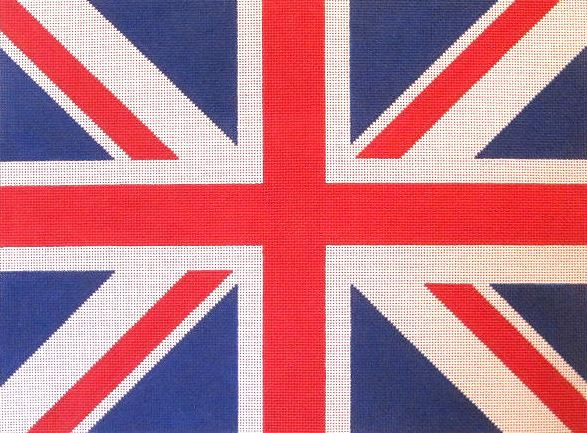 click here to view larger image of Union Jack (hand painted canvases)