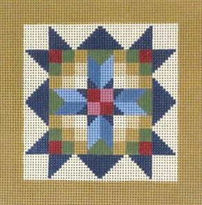 click here to view larger image of Scotch Stitch Sampler (hand painted canvases)
