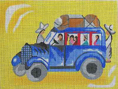 click here to view larger image of Nogales Bus (hand painted canvases)