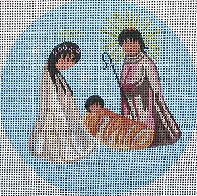 click here to view larger image of Nativity (hand painted canvases)