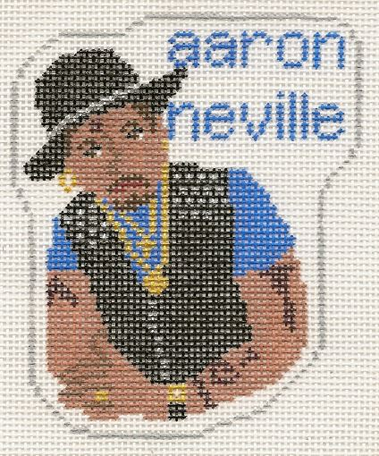 click here to view larger image of Aaron Neville (hand painted canvases)