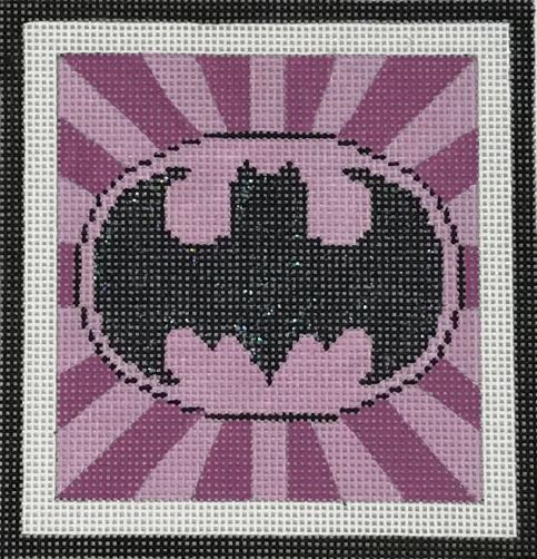 click here to view larger image of Batgirl Emblem (hand painted canvases)