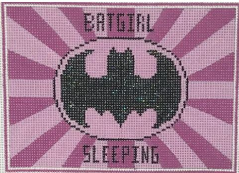 click here to view larger image of Batgirl Sleeping (hand painted canvases)