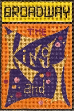 click here to view larger image of Broadway - The King and I (hand painted canvases)
