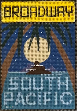 click here to view larger image of Broadway - South Pacific (hand painted canvases)