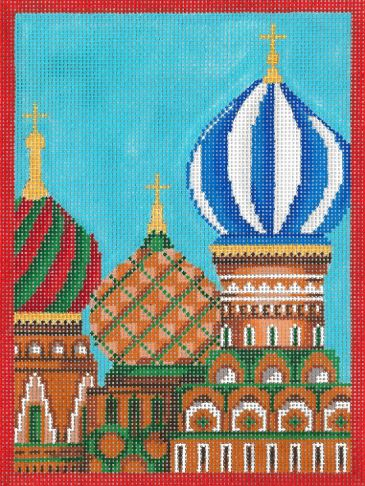 click here to view larger image of Countries - Russia (hand painted canvases)
