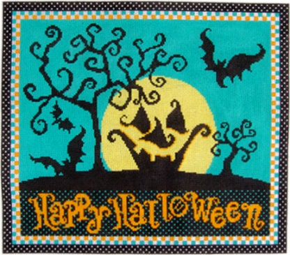 click here to view larger image of Happy Halloween Night (hand painted canvases)