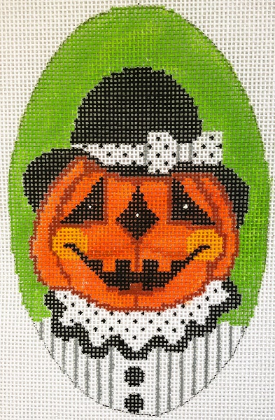 click here to view larger image of Mrs Dapper Pumpkin (hand painted canvases)