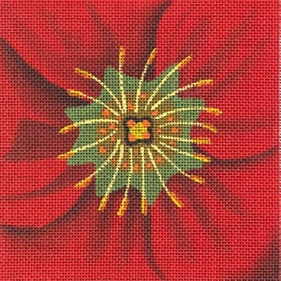 click here to view larger image of Potentilla Coaster (hand painted canvases)
