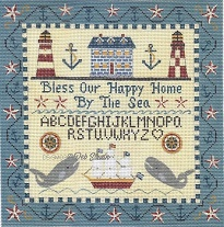 click here to view larger image of Happy Sea Home (hand painted canvases)