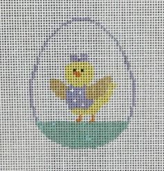 click here to view larger image of Chick in Egg  (hand painted canvases)