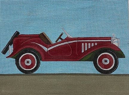 click here to view larger image of Alpha Romeo 1934 (hand painted canvases)
