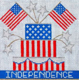 click here to view larger image of Independence (hand painted canvases)