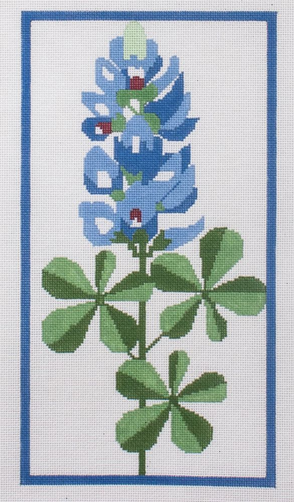 click here to view larger image of Bluebonnet (hand painted canvases)