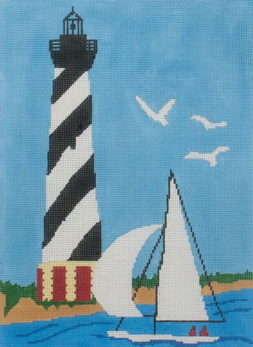 click here to view larger image of Cape Hatteras Lighthouse (hand painted canvases)