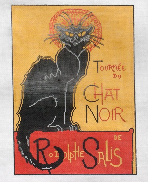 click here to view larger image of Chat Noir (hand painted canvases)