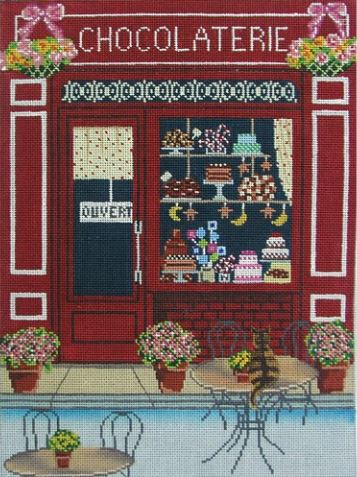 click here to view larger image of Chocolaterie (hand painted canvases)