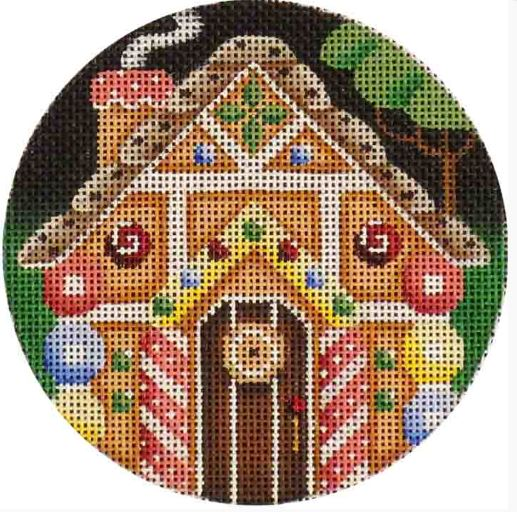 click here to view larger image of Hansel and Gretel Ornament (hand painted canvases)