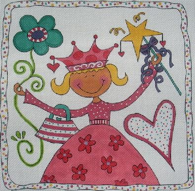 click here to view larger image of Princess (hand painted canvases)