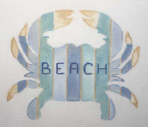 click here to view larger image of Beach Crab (hand painted canvases)