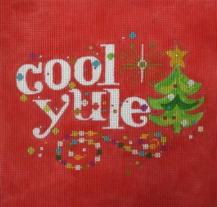 click here to view larger image of Cool Yule (hand painted canvases)