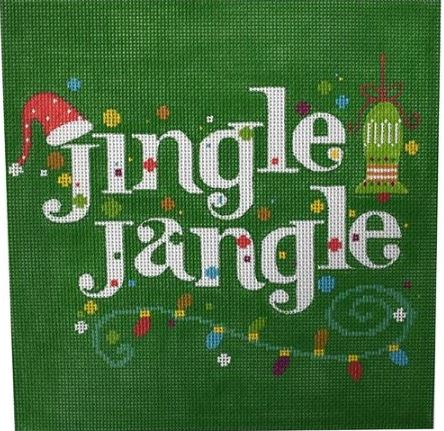 click here to view larger image of Jingle Jangle (hand painted canvases)