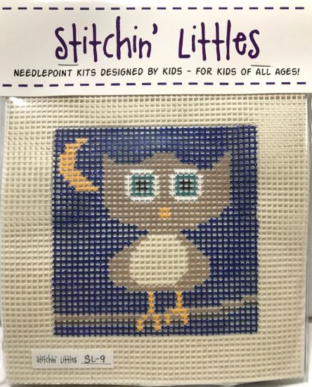 click here to view larger image of Stitchin' Littles - Hootie (needlepoint kits)