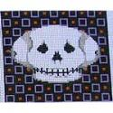 click here to view larger image of Skull - Small (hand painted canvases)