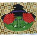 click here to view larger image of Witch - Small (hand painted canvases)