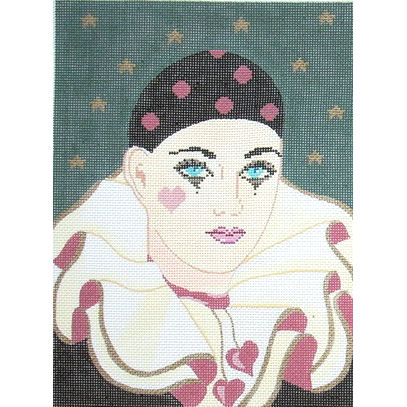 click here to view larger image of Harlequin (hand painted canvases)