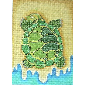 click here to view larger image of Sea Turtle (hand painted canvases)