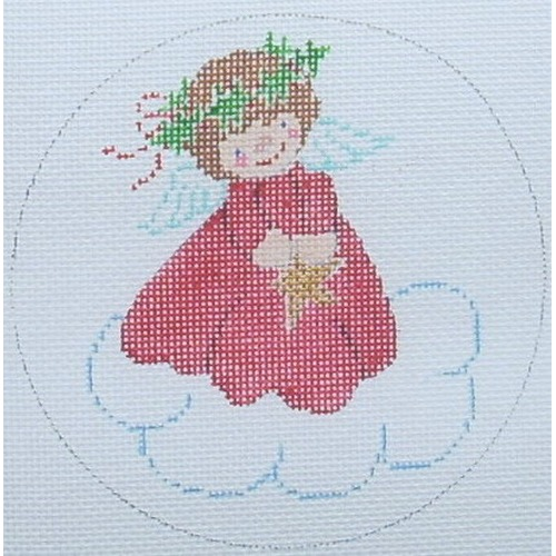 click here to view larger image of Angel Ornament 1 (hand painted canvases)