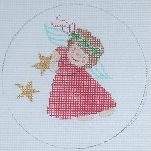 click here to view larger image of Angel Ornament 2 (hand painted canvases)