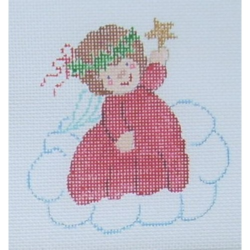 click here to view larger image of Angel Ornament 3 (hand painted canvases)