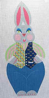 click here to view larger image of Bunny Boy (hand painted canvases)