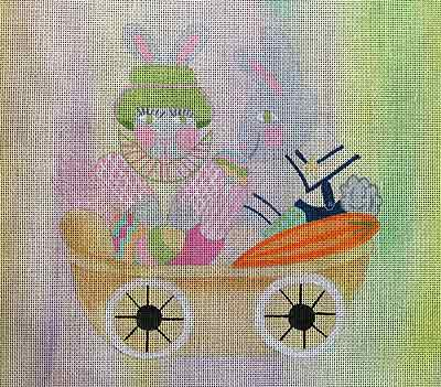 click here to view larger image of Bunny Children (hand painted canvases)